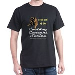 Cooldog Black T-Shirt - FRONT PRINT ONLY