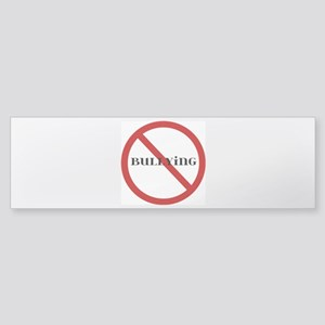 No Bullying Sticker (Bumper)