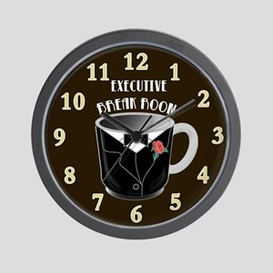 Executive break Room Art Deco Wall Clock