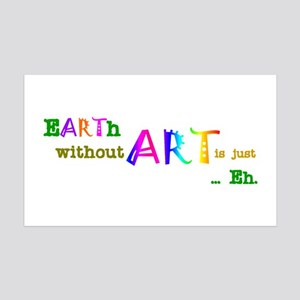 EarthWithoutArt 35x21 Wall Decal