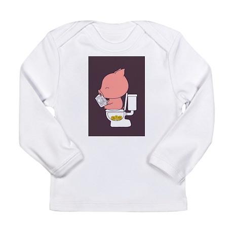 Piggy Bank Long Sleeve Infant T-Shirt