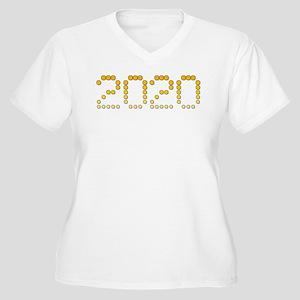 2020 Women's Plus Size V-Neck T-Shirt