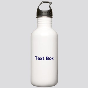 Personalized Stickers, etc. Stainless Water Bottle