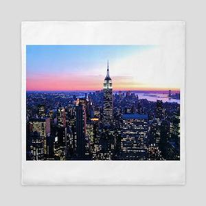 Empire State Building: Skylin Queen Duvet