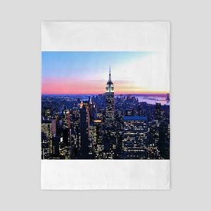 Empire State Building: Skylin Twin Duvet