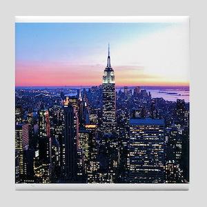 Empire State Building: Skylin Tile Coaster