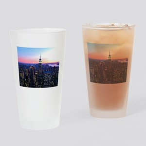 Empire State Building: Skylin Drinking Glass