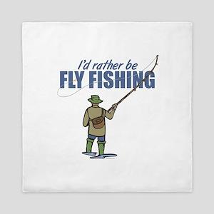 Fly Fishing Queen Duvet