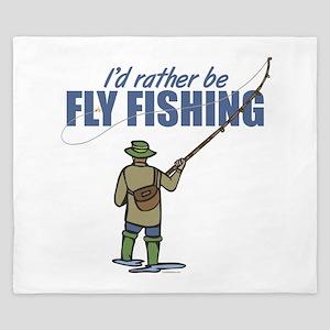 Fly Fishing King Duvet