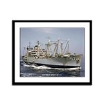 USS GREAT SITKIN Framed Panel Print