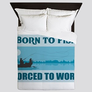 Born to Fish Queen Duvet