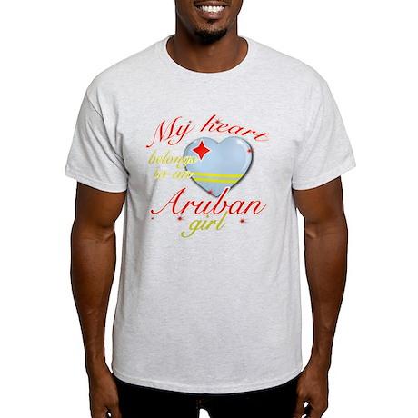 Aruban Valentine's designs Light T-Shirt