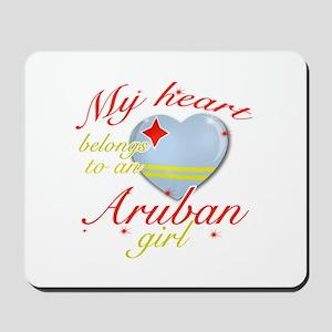 Aruban Valentine's designs Mousepad