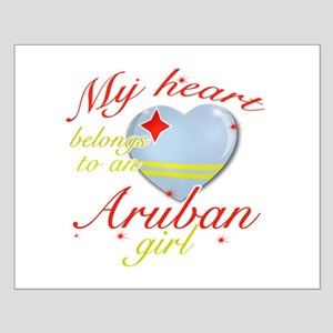 Aruban Valentine's designs Small Poster