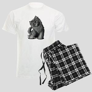 Belgian Sheepdog Men's Light Pajamas