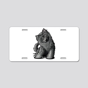 Belgian Sheepdog Aluminum License Plate