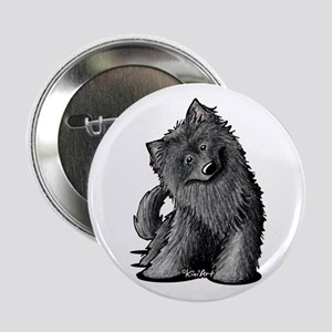 "Belgian Sheepdog 2.25"" Button"
