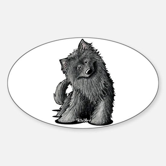 Belgian Sheepdog Sticker (Oval 10 pk)