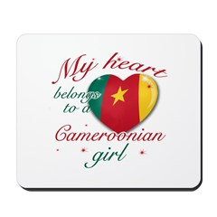 Cameroonian Valentine's designs Mousepad
