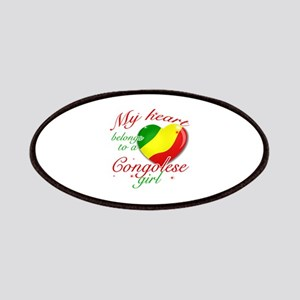 Congolese Valentine's designs Patches