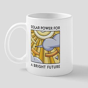 Solar Power for a Bright Future Mug