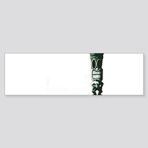 Tiki Island Princess Bumper Sticker