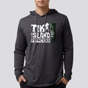 Tiki Island Princess Mens Hooded Shirt
