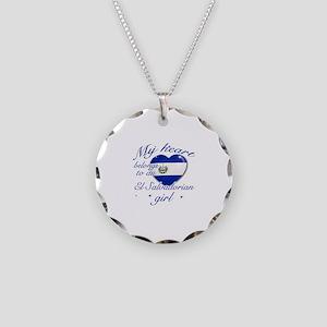 El Salvadorian Valentine's designs Necklace Circle