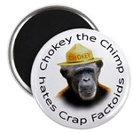 "Chokey the Chimp 2.25"" Magnet (10 pack)"