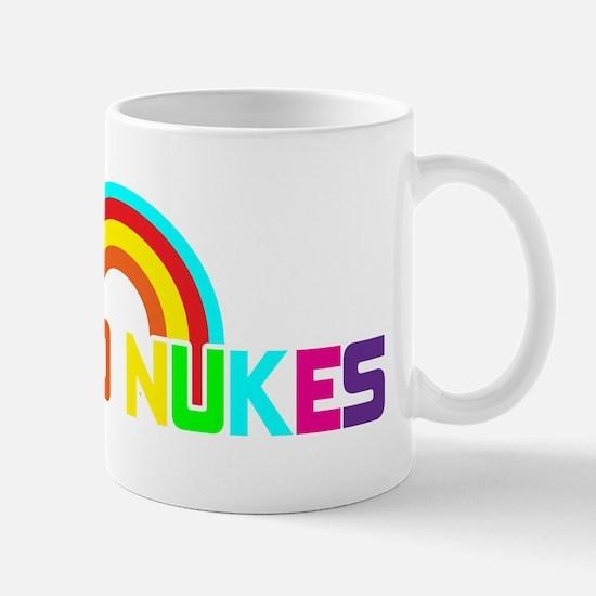 No Nukes, Anti Nuclear, Prote Mug
