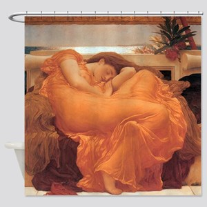 Frederic Leighton Flaming June Shower Curtain