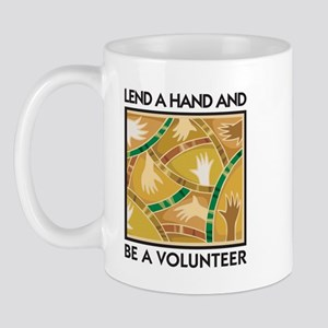 Lend a Hand and Be a Volunteer Mug