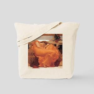Frederic Leighton Flaming June Tote Bag