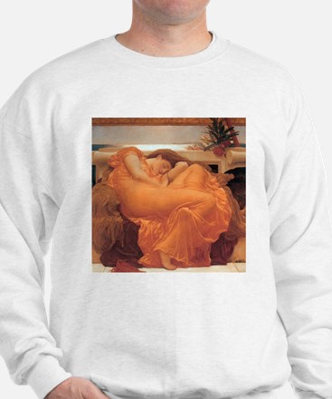 Frederic Leighton Flaming June Sweatshirt