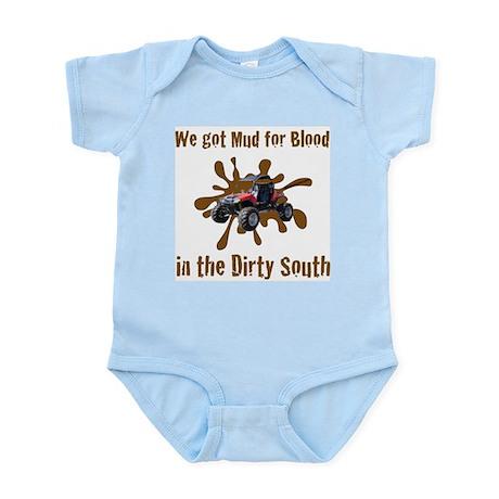 Blood For Mud Infant Bodysuit