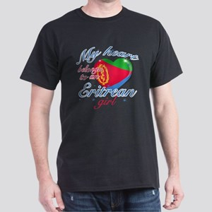 Eritrean Valentine's designs Dark T-Shirt