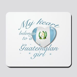 Guatemalan Valentine's designs Mousepad