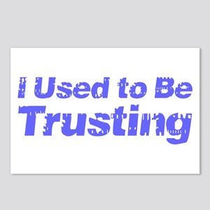 I Used to Be Trusting Postcards (Package of 8)