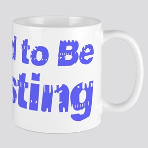 I Used to Be Trusting 11 oz Ceramic Mug