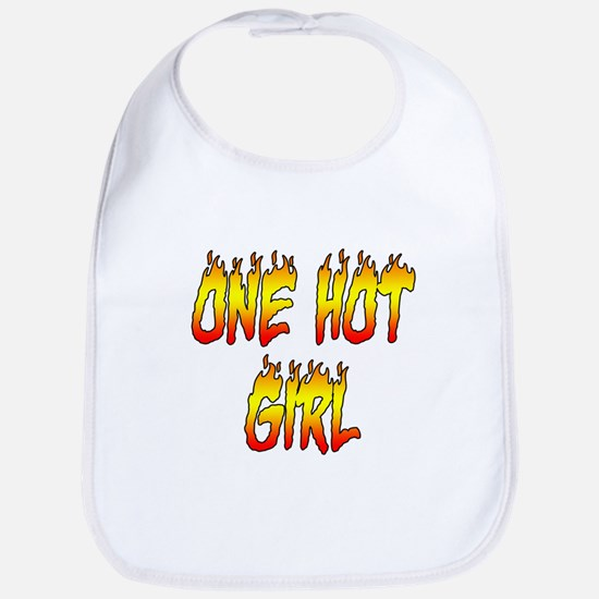 One Hot Girl Bib