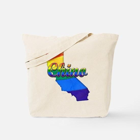 Chino, California. Gay Pride Tote Bag