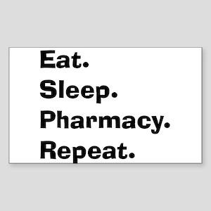 Pharmacist Humor Sticker (Rectangle)
