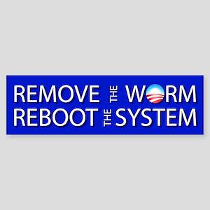 01_ReBootNoYr Bumper Sticker