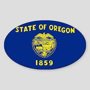Oregon Sticker (Oval)