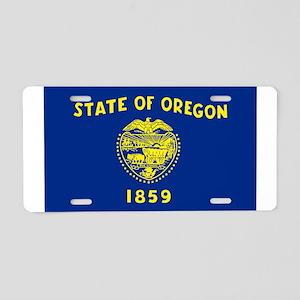 Oregon Aluminum License Plate