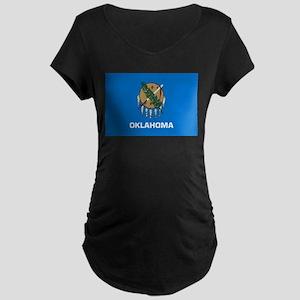 Oklahoma Maternity Dark T-Shirt