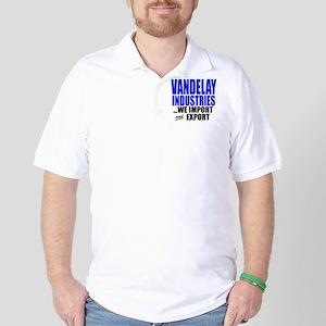 """Vandelay Imports AND Exports"" Golf Shirt"