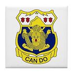 15th Infantry Regiment Tile Coaster