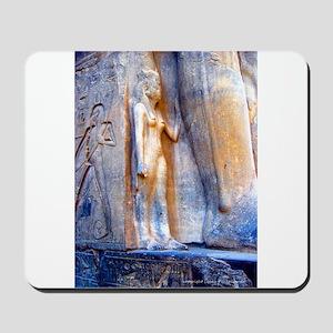 Nefertari Statue Mousepad