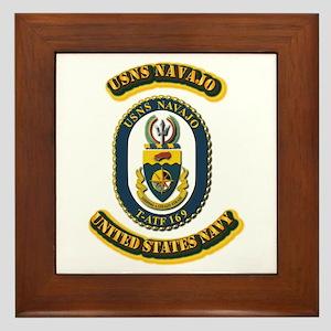 US - NAVY - USNS Navajo (T-ATF 169) Framed Tile